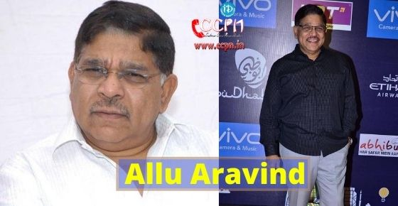 How to contact Allu Aravind?