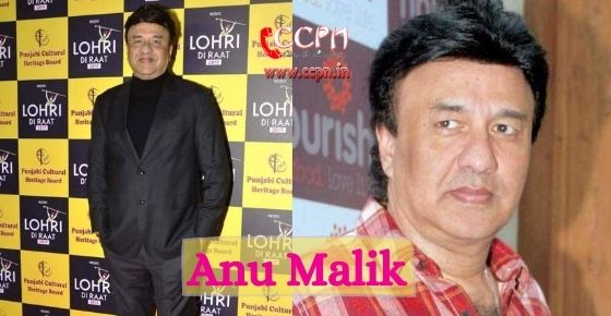 How to contact Anu Malik?