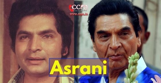 How to contact Asrani?