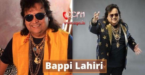 How to contact Bappi Lahiri?