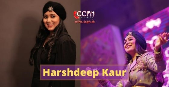 How to contact Harshdeep Kaur?