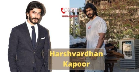 How to contact Harshvardhan Kapoor?