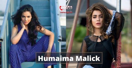 How to contact Humaima Malick?