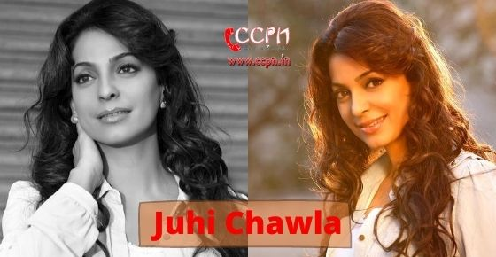 How to contact Juhi Chawla?