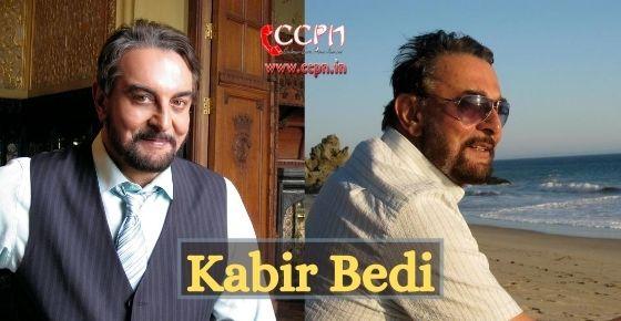 How to contact Kabir Bedi?