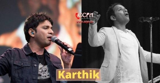 How to contact Karthik?
