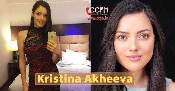 How to contact Kristina Akheeva?