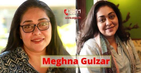 How to contact Meghna Gulzar?