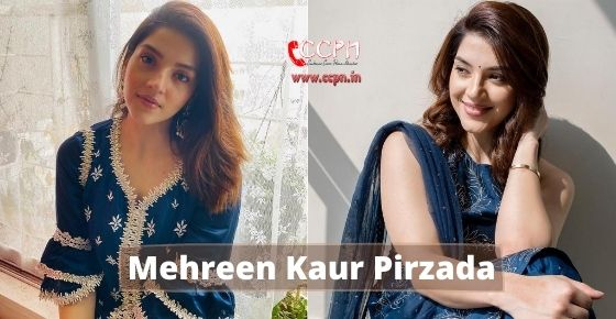 How to contact Mehreen Kaur Pirzada?