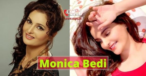 How to contact Monica Bedi?