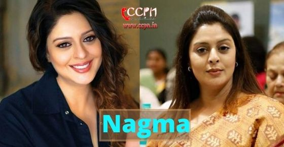 How to contact Nagma?