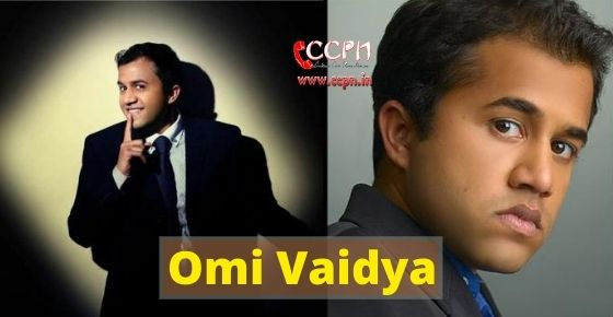 How to contact Omi Vaidya?