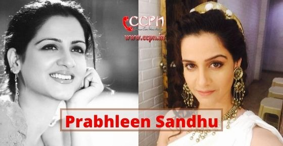How to contact Prabhleen Sandhu?