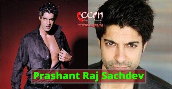 How to contact Prashant Raj Sachdev?