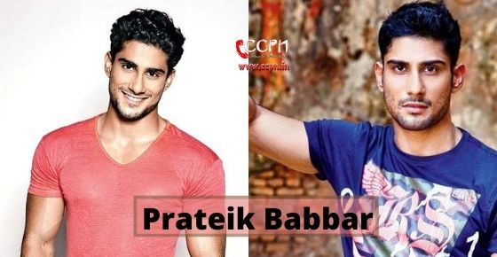 How to contact Prateik Babbar?