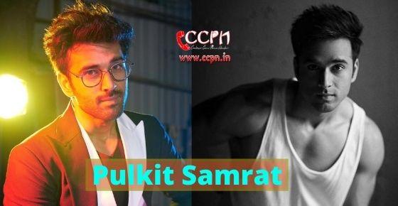 How to contact Pulkit Samrat?