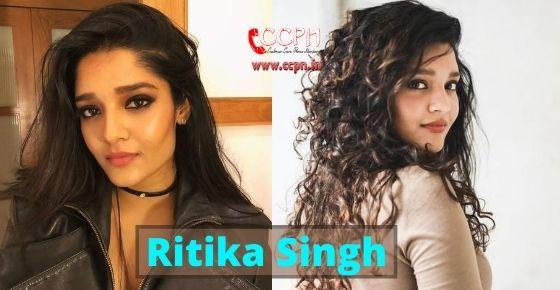 How to contact Ritika Singh?
