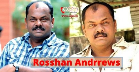 How to contact Rosshan Andrrews?