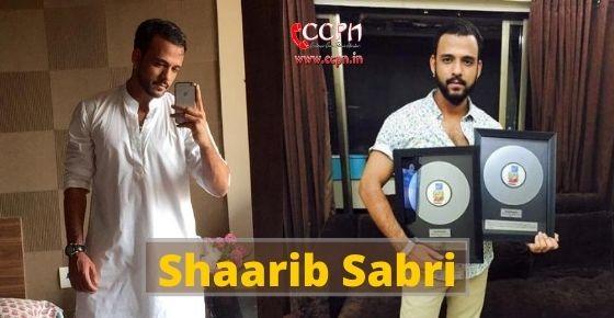 How to contact Shaarib Sabri?