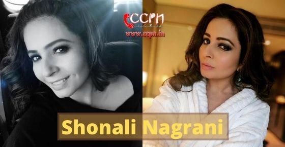 How to contact Shonali Nagrani?