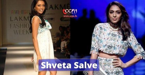 How to contact Shveta Salve?