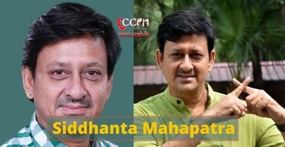 How to contact Siddhanta Mahapatra?