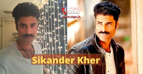 How to contact Sikander Kher?