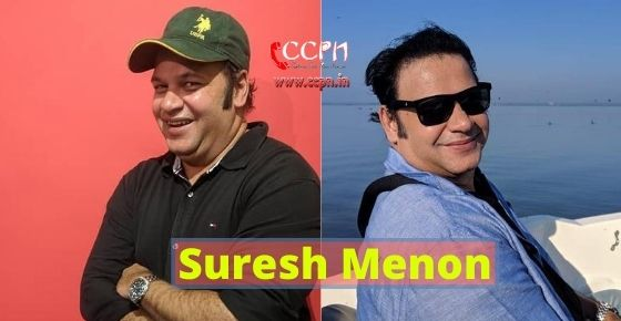 How to contact Suresh Menon?