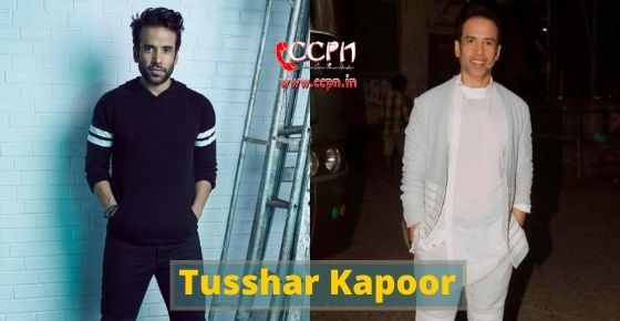How to contact Tusshar Kapoor?