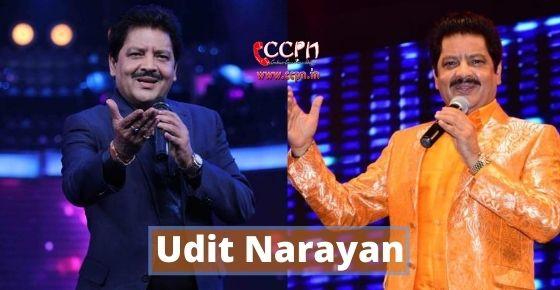 How to contact Udit Narayan?