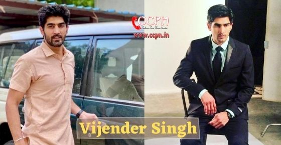 How to contact Vijender Singh?