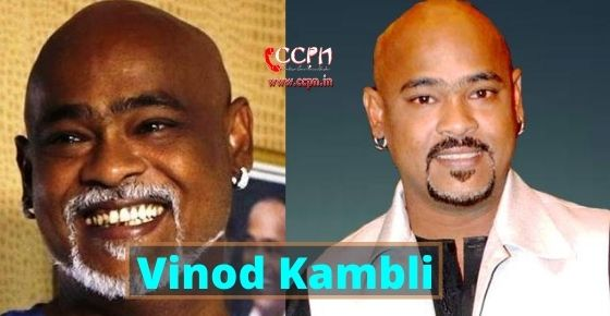 How to contact Vinod Kambli?