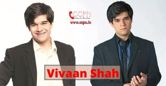 How to contact Vivaan Shah?