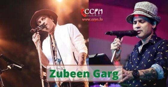 How to contact Zubeen Garg?