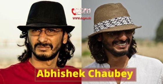 How to contact Abhishek Chaubey?