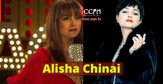 How to contact Alisha Chinai?