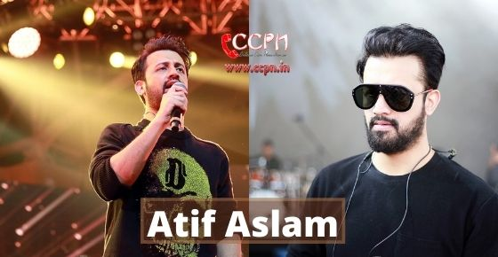 How to contact Atif Aslam?