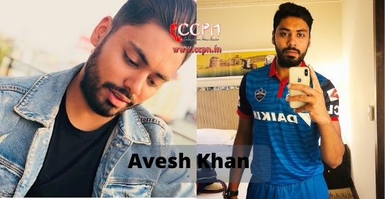 How to contact Avesh Khan