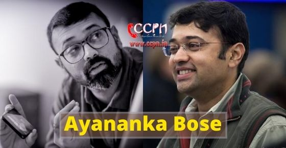 How to contact Ayananka Bose?
