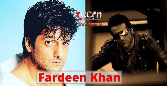 How to contact Fardeen Khan?
