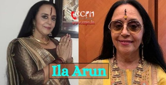 How to contact Ila Arun?