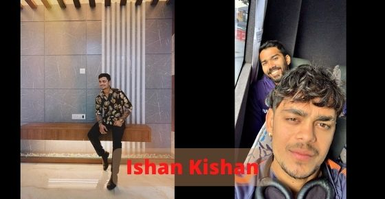 How to contact  Ishan Kishan
