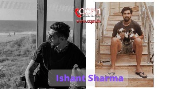 How to contact Ishant Sharma
