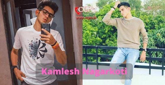 How to contact Kamlesh Nagarkoti