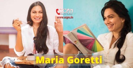 How to contact Maria Goretti?
