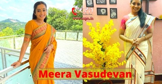 How to contact Meera Vasudevan?