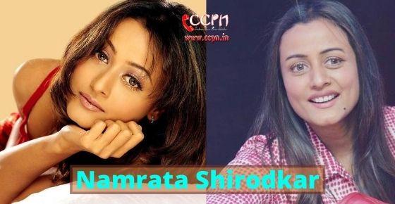 How to contact Namrata Shirodkar?