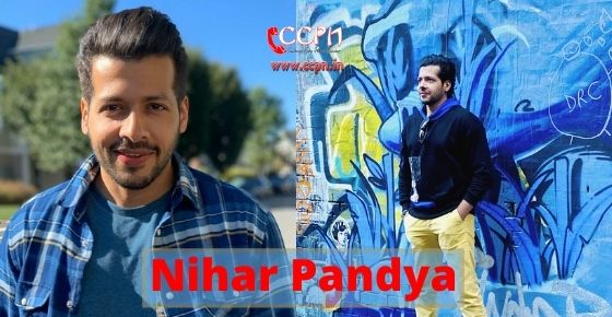 How to contact Nihar Pandya?