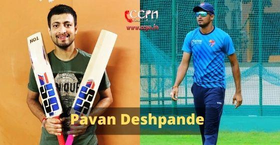 How to contact Pavan Deshpande