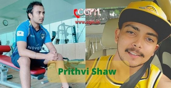 How to contact Prithvi Shaw